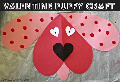 Construction Paper Valentines Day Crafts - valentines day craft for crafty morning