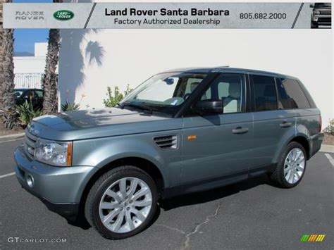 green land rover 2006 giverny green metallic land rover range rover sport