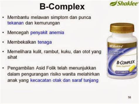 Vitamin Untuk Pencernaan b complex shaklee vitamin penenang emosi tekanan stress vitaminorganik