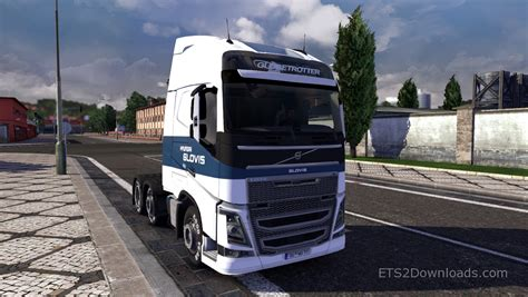 Hyundai Glovis by Awesome Truck Simulator 2 Hyundai Glovis Skin