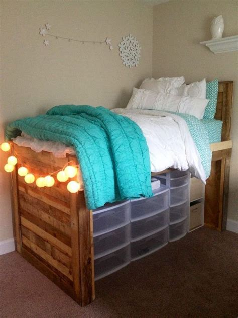 lofted bed dorm if you re short on closet storage space in your dorm room