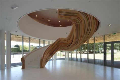 moderne innenarchitektur organische treppengestaltung l 228 sst den innenbereich