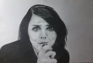 Gerard Way 2 portrait of gerard way by irishgirl on portraits 2