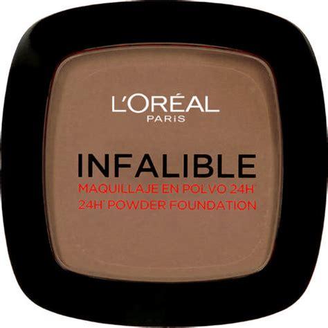 L Oreal Infallible Powder l oreal infallible 24 hour powder foundation mahogany 9g