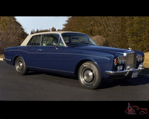 1973 Bentley Corniche 6 8l Coupe Fhc Body By M P W One