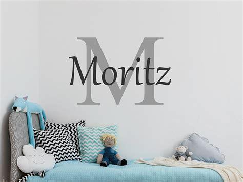 Wandtattoo Kinderzimmer Mit Wunschnamen by Wandtattoo Anfangsbuchstabe Mit Wunschname Wandtattoos De