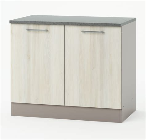 meuble bas de cuisine 100 cm cuisto meuble de cuisine