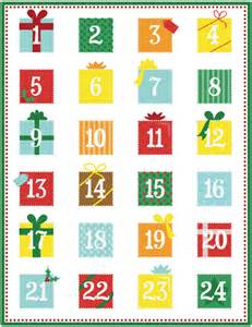 printable advent calendar new in the shop 171 calobee doodles