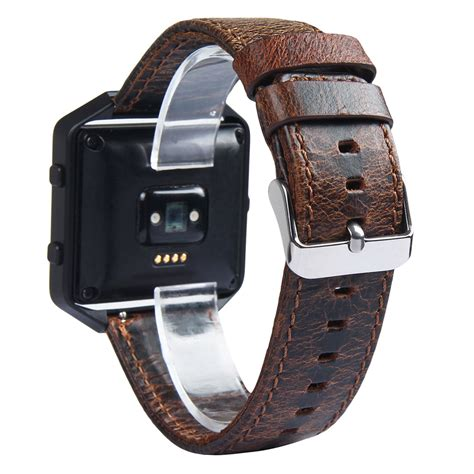 leather band excellent quality 2016 luxury genuine leather replacement band wrist metal frame for