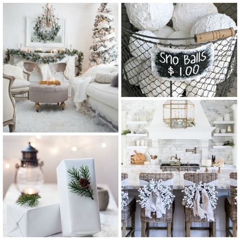all white christmas style series the happy housie