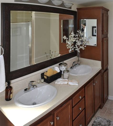 Mobile Home Bathroom Makeovers by 1000 Images About Mobile Home Bathroom Decors On