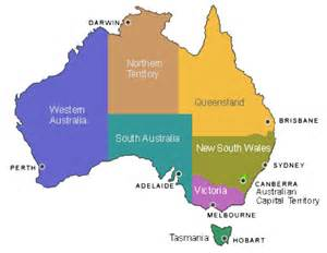 Map Of Australian States by States And Territories Of Australia Map London Map
