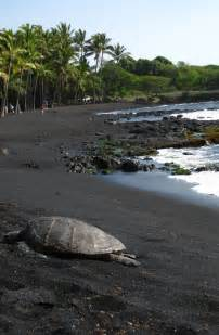 punaluu black sand most outstanding beaches in the world