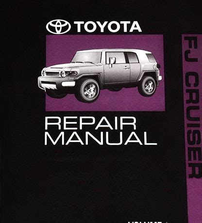 hayes auto repair manual 2008 toyota fj cruiser electronic throttle control 2011 toyota fj cruiser factory dealer shop service repair manual 3 volume set factory repair