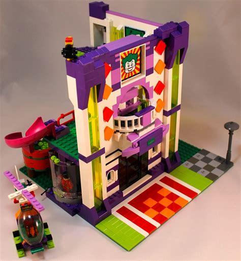 Lego Joker 1 lego ideas batman and joker fight at the funhouse