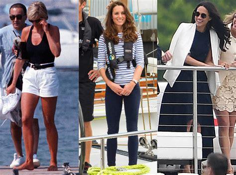Vs Katee by How Princess Diana Kate Middleton Meghan Markle S Style