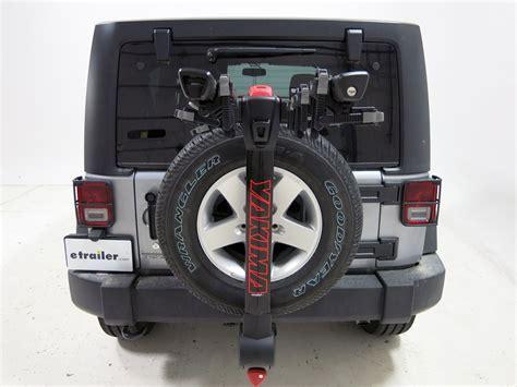 2010 jeep wrangler unlimited yakima fulltilt 4 bike rack