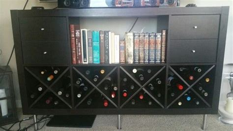 kallax wine rack 1000 ideas about ikea kallax shelf on pinterest bedroom