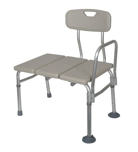 guardian shower bench medline unpadded transfer bench guardian box of 3