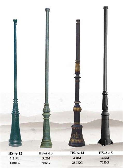 style l post cast iron l post antique l pole outdoor lighting