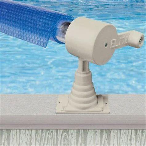 Backyard Fun Aqua Splash 24ft Above Ground Pool Solar Cover Reel