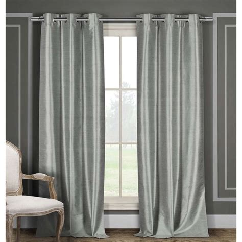 fake window with curtains duck river faux silk thermal insulated blackout window