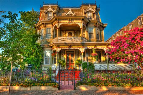 colorful victorian wallpaper beautiful victorian house wallpaper and background image