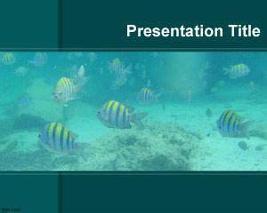 plantilla powerpoint de acuario plantillas powerpoint gratis