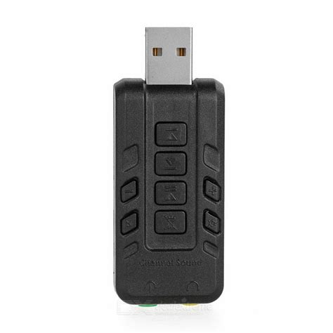 Sound Card Usb Adapter 8 1 Channel 3d Audio Microphone Headset 3 5mm external usb 8 1 channel 3d audio sound card