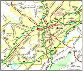 birmingham al map