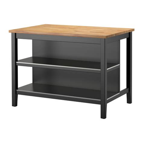 ikea black kitchen table stenstorp kitchen island black brown oak 126x79 cm ikea
