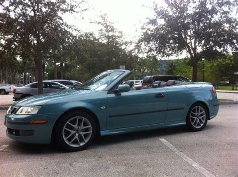 2004 saab 9 3 aero convertible in ft lauderdale fl transcontinental car usa corp find used 2004 saab 9 3 aero convertible 2 door 2 0l in miami florida united states