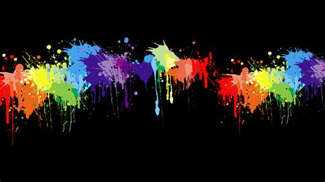 Wallpaper Or Paint | paint splatter wallpapers wallpaper cave