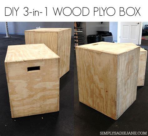 plyo box template diy 3 in 1 wood plyo box for 35 fitness tutorials