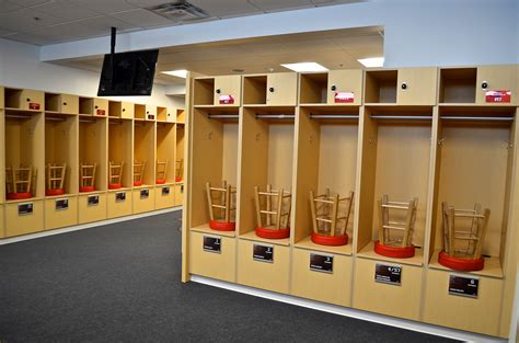 custom lockers and locker room creative surfaces