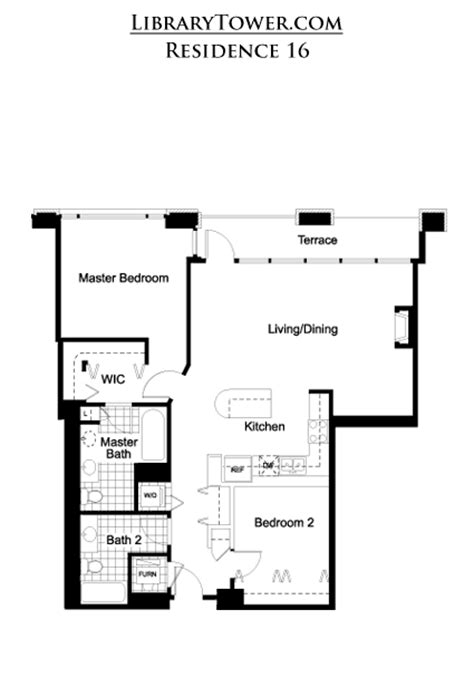 1 e 8th st chicago floor plan library tower 520 s state chicago il 60605 profile