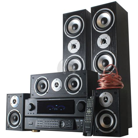 new all in one home cinema surround sound 5 way speaker
