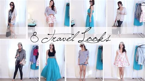 travel outfit ideas style mix match ann le youtube