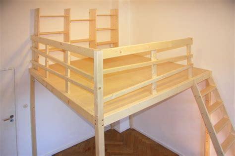 galerie selber bauen hochbett hochebene hochbett hochbetten