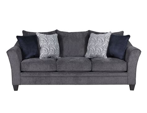 simmons albany sofa with chaise albany pewter sofa and loveseat by simmons