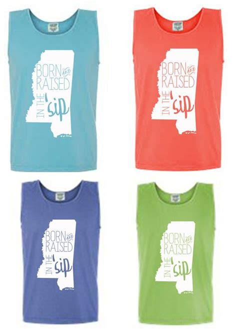 design comfort colors etsy born and raised in the sip mississippi comfort