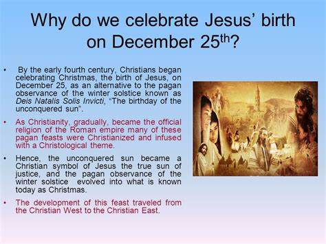why do we celebrate the season the season ppt