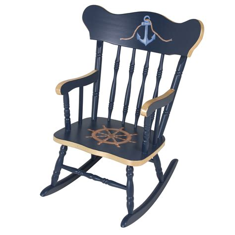 S Rocking Chair by Child S Rocking Chair Navy And Gold Gilding