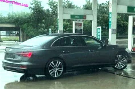 Radstand Audi A6 by 2018 Audi A6 L Images Leaked Ahead Of Launch