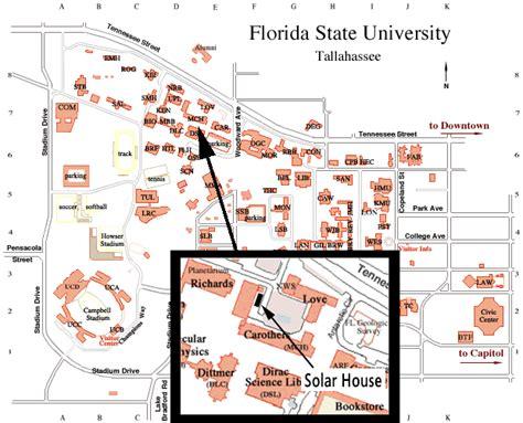 fsu map fsu energy and sustainability center