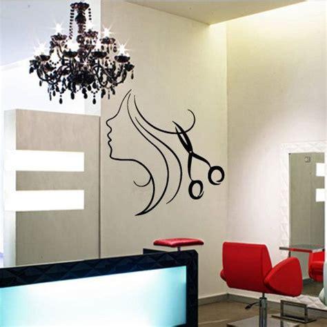 Hair Salon Wall Decor by Wall Decal Decor Decals Hair Salon Curl Scissors