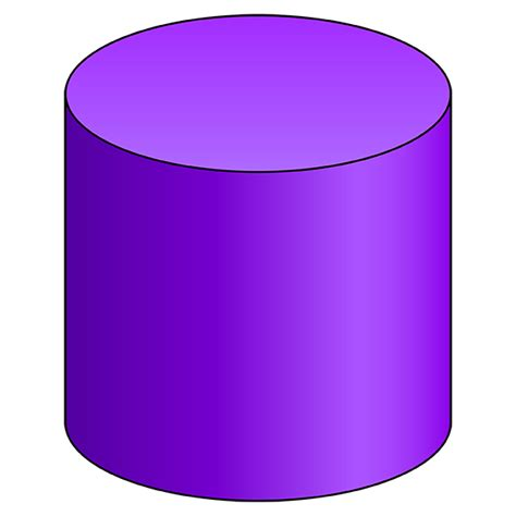 How To Make A 3d Cylinder Out Of Paper - cylinder 3d shape geometry nets of solids
