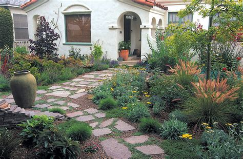 Pacific Horticulture Society The Fire Safe Cottage Garden Front Door Gardens