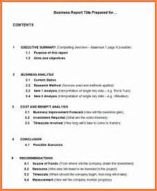 Formal Report Template by 10 Formal Report Template Invoice Exle 2017