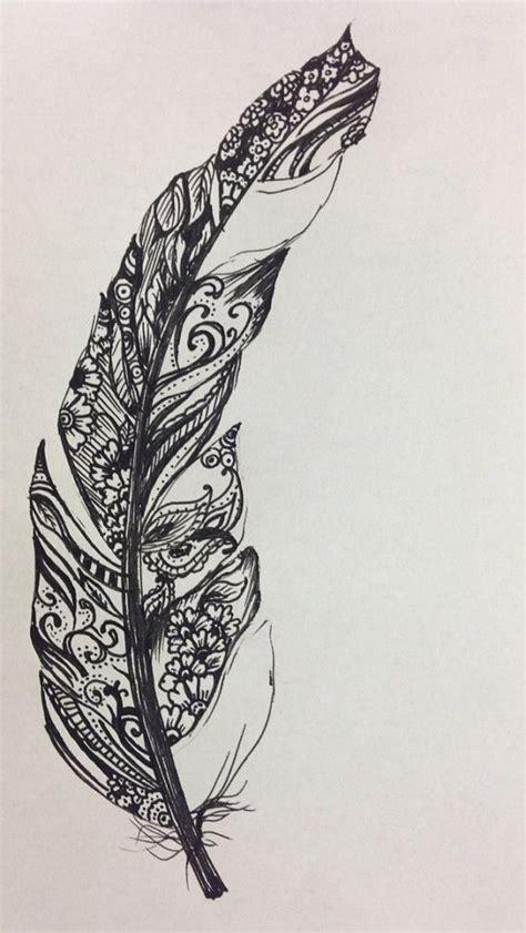 feather tattoo vorlagen 40 coole fu 223 tattoo vorlagen feather tattoo design